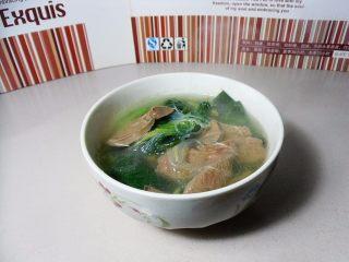 粉丝菠菜猪肝汤