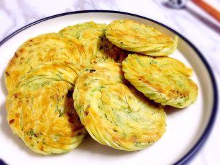 馄饨皮版香葱银丝饼,装盘趁热享用吧 咸香酥脆的银丝饼,你不来一块嘛🤗🤗