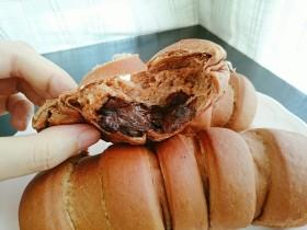 巧克力毛毛虫面包