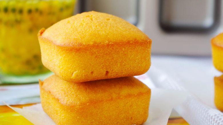 酸甜可口的百香果胖胖糕