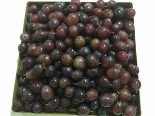 葡萄果酱,洗净的葡萄