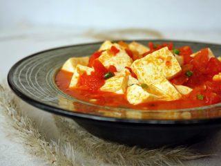 清新番茄豆腐