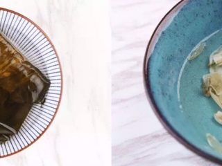 一碗这个汤,干花菇、干黄花菜、海带、百合泡发