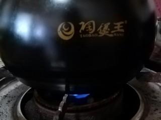糖醋豇豆,小火炖