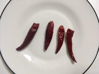 辣炒蚬子,干辣家用略潮的厨房纸擦净