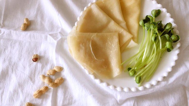 水单饼(烫面法、附卷饼方法)