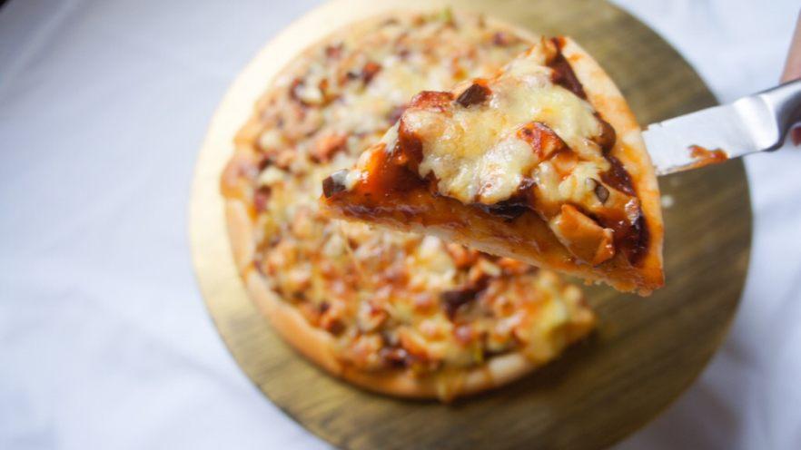 家常香菇披萨