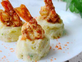 咸蛋黄焗阿根廷红虾