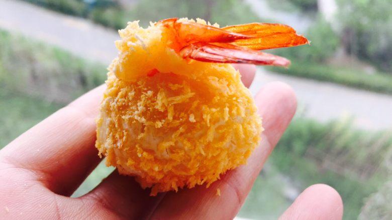 黄金虾球,是不是很诱人。
