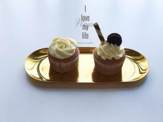 巧克力杯子蛋糕(分蛋海绵蛋糕),成品图