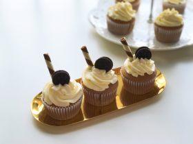 巧克力杯子蛋糕(分蛋海绵蛋糕)