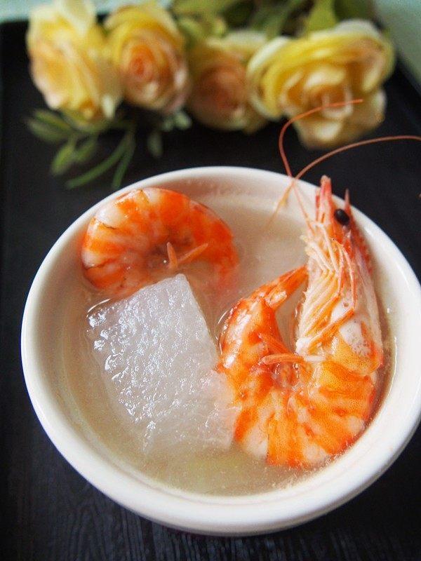 #家常菜大比拼#冬瓜鲜虾汤