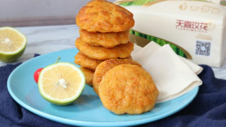 龙利鱼肉蔬饼