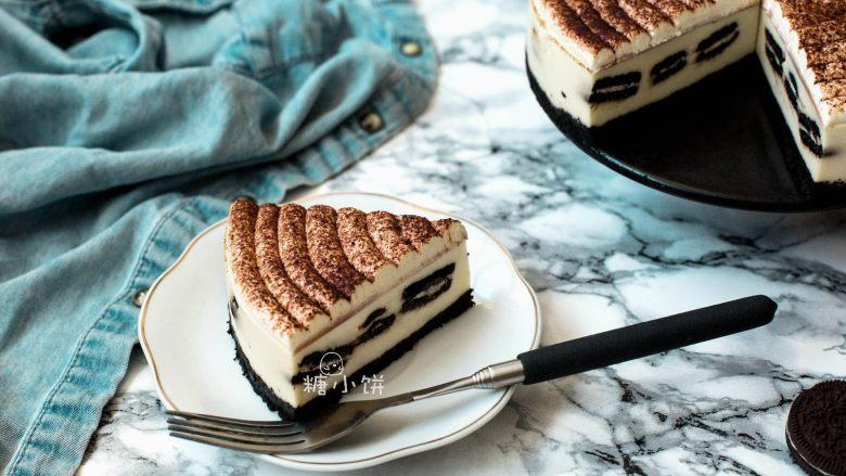 【奥利奥冻芝士蛋糕】