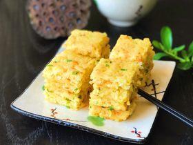 黄金米饭饼