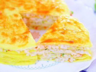 千层蛋包饭 宝宝辅食食谱