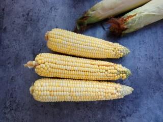玉米烙,玉米去壳