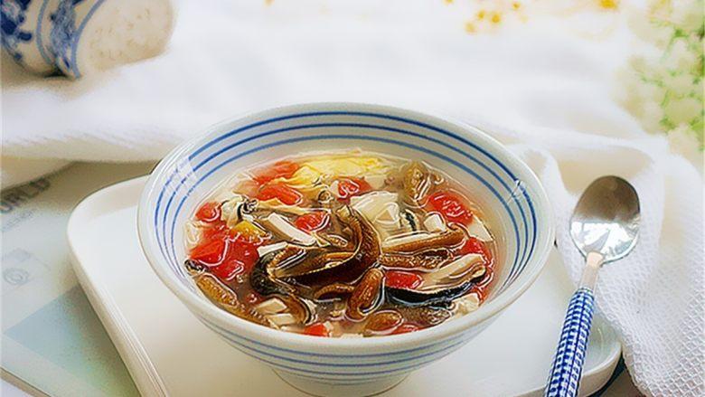 私家番茄豆腐鳝鱼汤