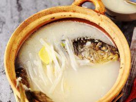 鲫鱼萝卜奶白汤