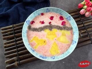水果酸奶花样制作,七夕妙想:胡柚+酸奶+凤梨+奇亚籽+玫瑰花瓣