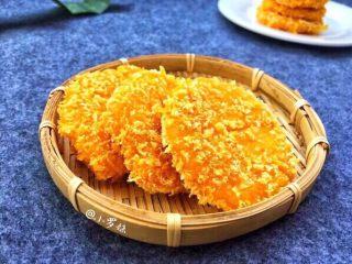 香糯南瓜饼,成品