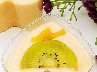 情人节佳品--木瓜酸奶布丁,成品图