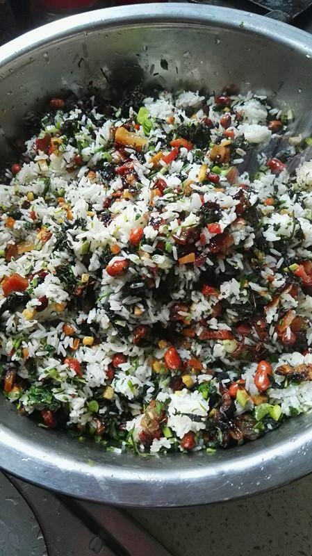侗家社饭的做法