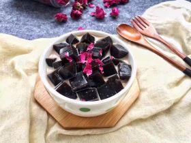 玫瑰蜂蜜龟苓膏