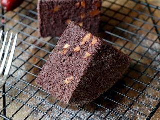 黑米红枣蒸糕,成品图;