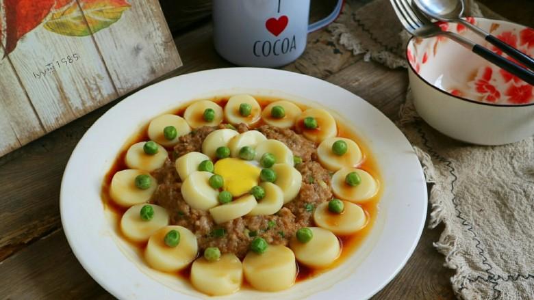 咸鸭蛋黄芙蓉豆腐