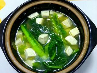 砂锅白菜豆腐汤