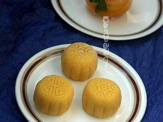 果汁冰皮月饼,