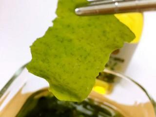 豆腐虾糕, 大约泡10分钟即可;完全泡开。