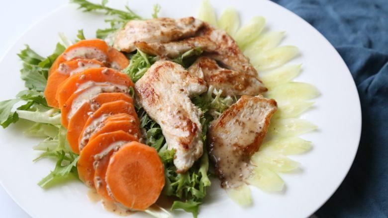 鸡胸肉沙拉 低脂美味