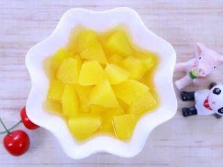 宝宝黄桃罐头 宝宝辅食食谱