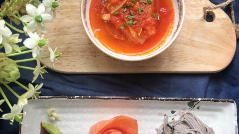 酸酸甜甜就是爱 ——夜开花番茄浓汤