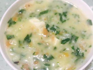 虾汁蔬菜疙瘩鱼汤面  宝宝辅食12M+