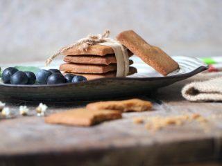 红糖饼干,成品图