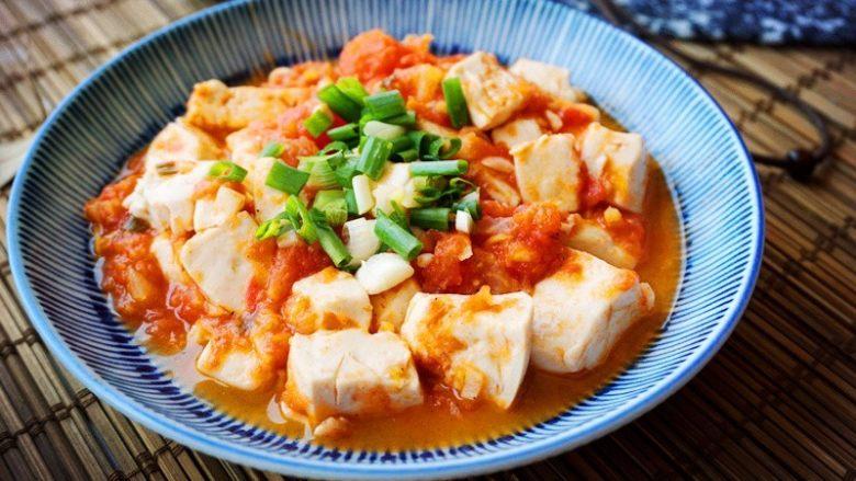 百搭西红柿+西红柿豆腐