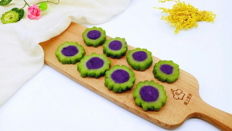 回甘清甜的苦瓜酿紫薯
