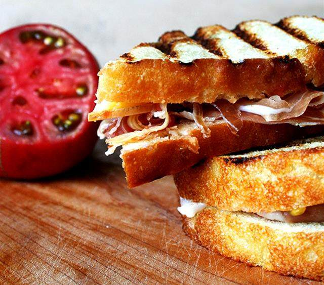 简单美味的三明治