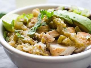 辣墨西哥风味蛋白质碗