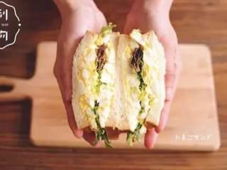 日式鸡蛋三明治