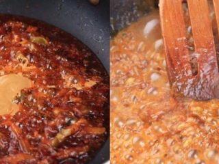 负责任的告诉你,饿的时候看这锅菜能一口气吃2碗饭!? 水煮鲜蔬,继续加入腰果酱,翻炒均匀后下高汤或清水煮开