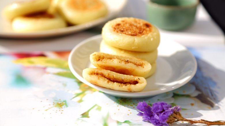 糯米土豆饼,再来一张诱惑!