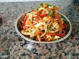 五味黄豆芽菜