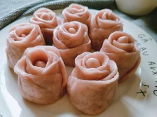 玫瑰花馒头,一起吃爱的小馒头呀~