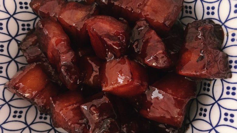 不过油不焯水的红烧肉