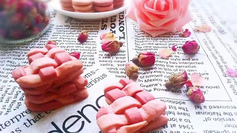 爱心编织饼干