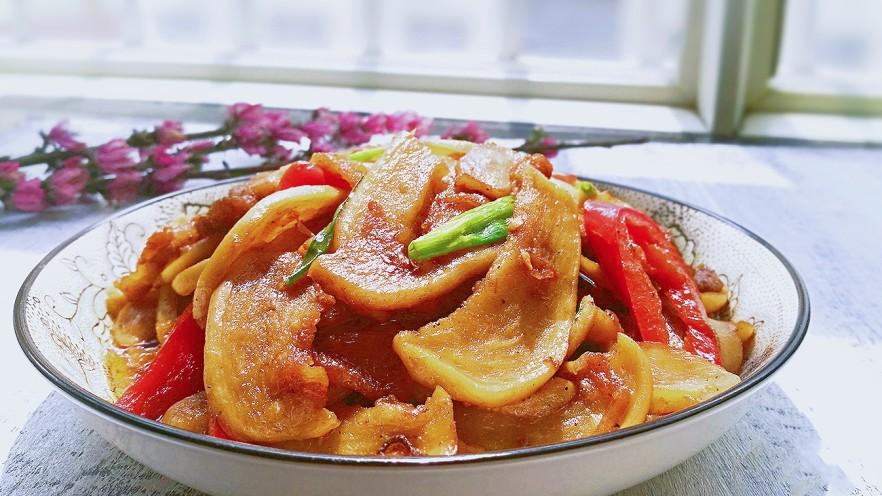 萝卜干烧五花肉